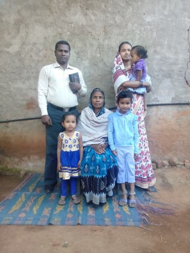 pastor Adison Anand and family1